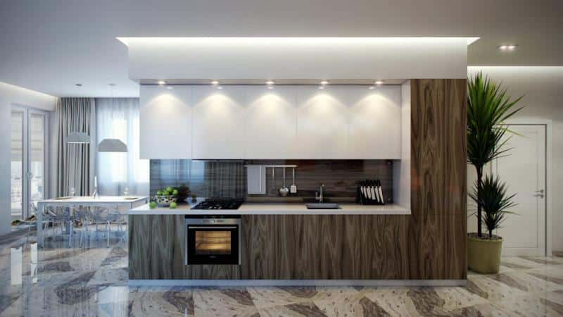 Все о напольных покрытиях для кухни