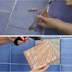 Декупаж кафельной плитки на кухне: технология выполнения своими руками