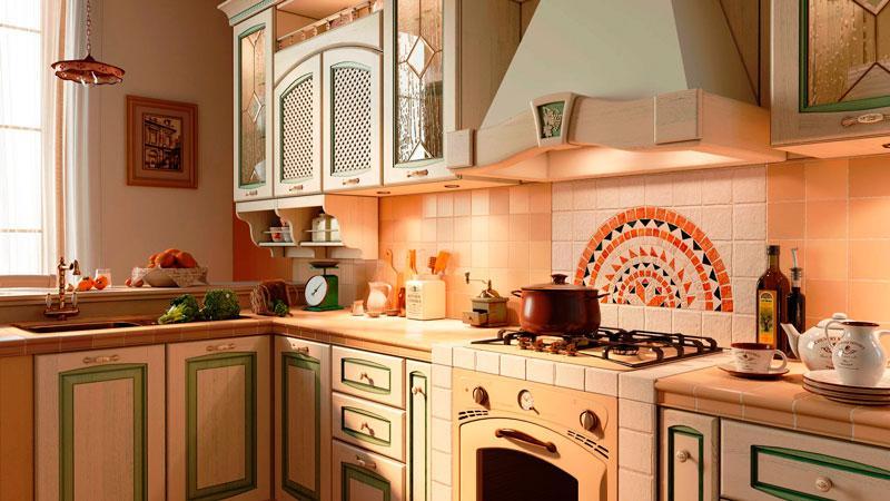 Все об испанской плитке в кухню для фартука и пола