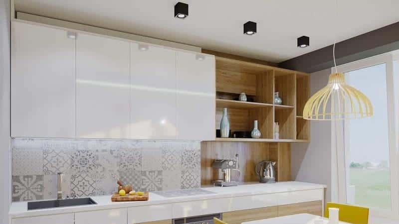Все о кухне до потолка