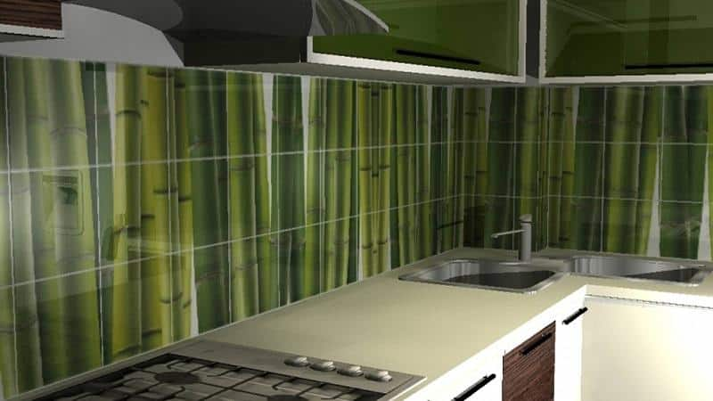 Все о пластиковой плитке для кухни