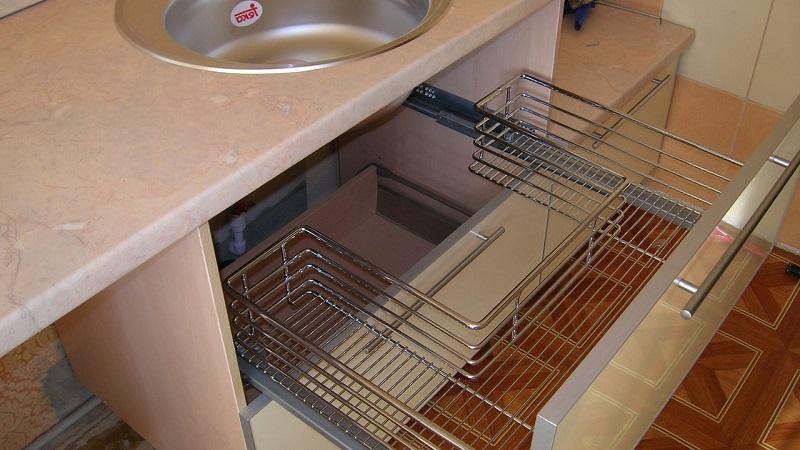 Все о тумбах под мойку для кухни