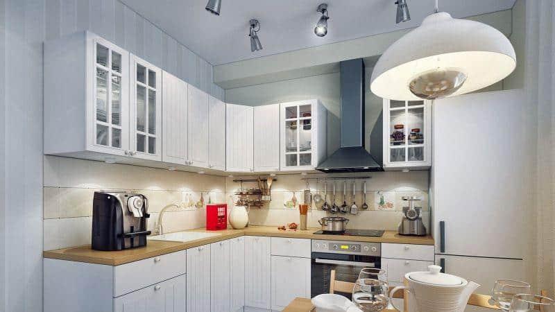 Всё о ремонте кухни 10 кв м