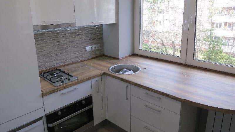 Всё о ремонте кухни 6 метров