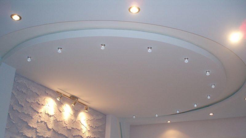 Всё о вариантах отделки потолка на кухне