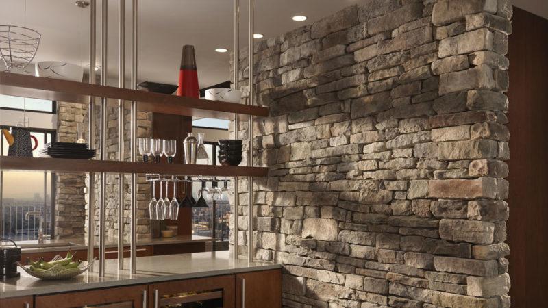 Всё о вариантах отделки стен в кухне