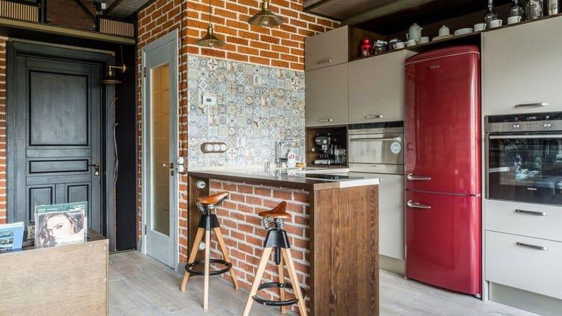 О видах барных стоек для кухни: идеи и варианты