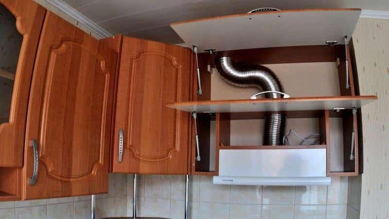Как подключается вытяжка на кухне к электричеству