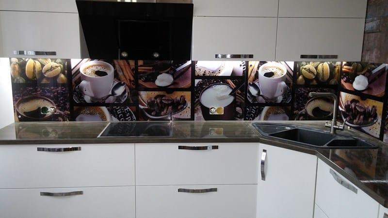 Как установить кухонный фартук