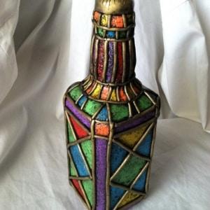 Красивый декор бутылок и банок для кухни