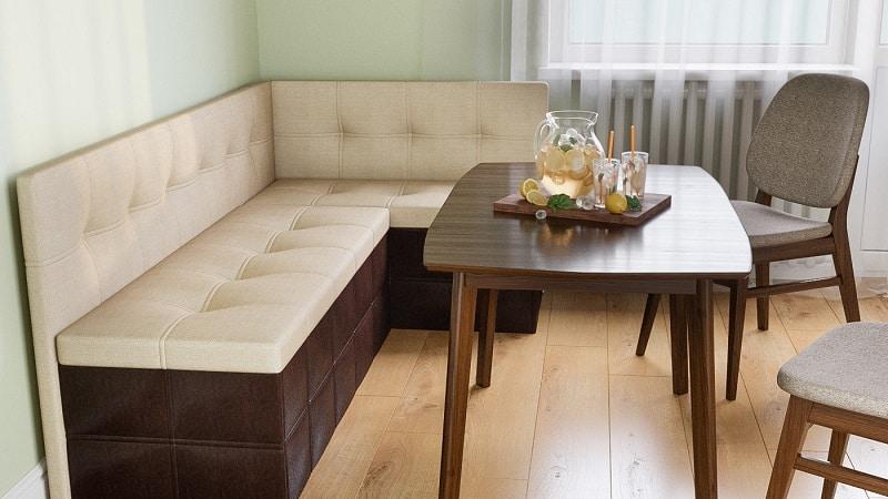 О диванах-скамейках на кухню: диван-лавка в кухонном интерьере