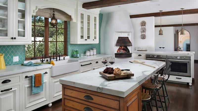 Дизайн кухни в средиземноморском стиле