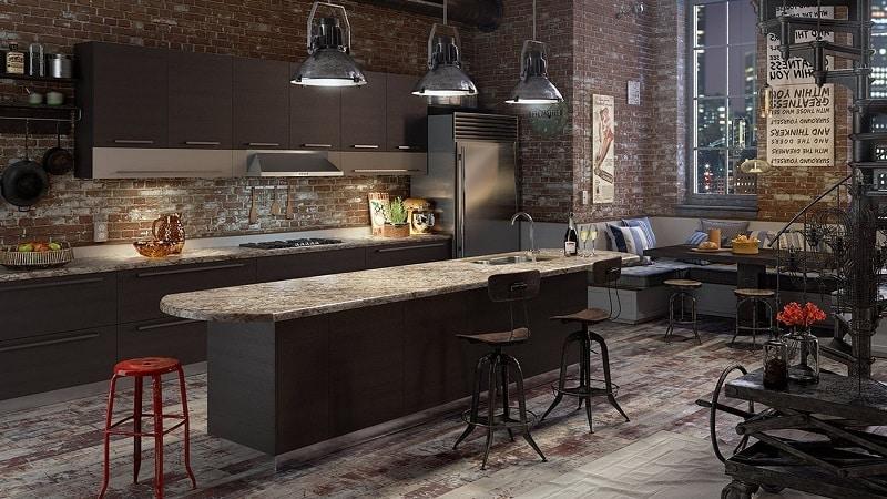О кухне в стиле лофт: современные решения в интерьере