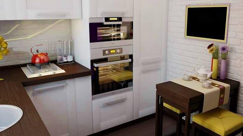 О ремонте маленькой кухни