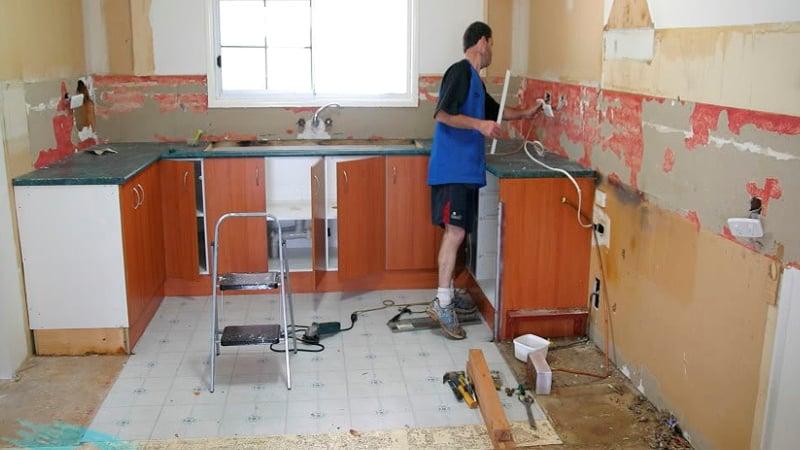 С чего лучше начинать ремонт кухни