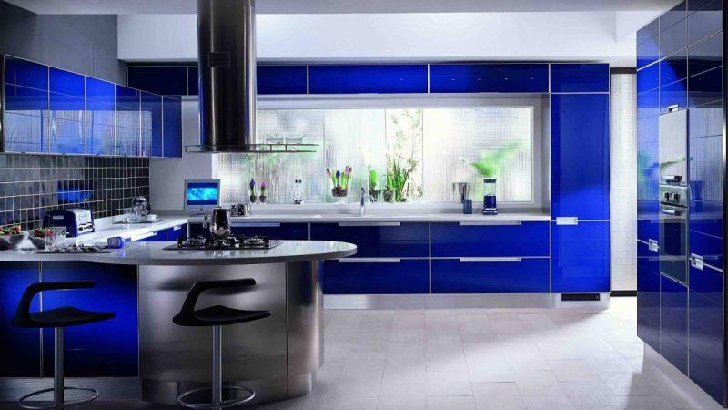 Современный и интересный дизайн интерьера кухни