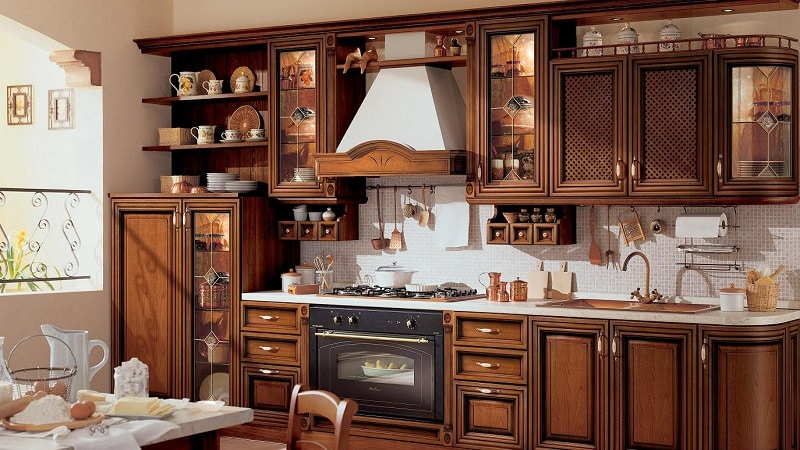 Все о кухне в стиле ретро