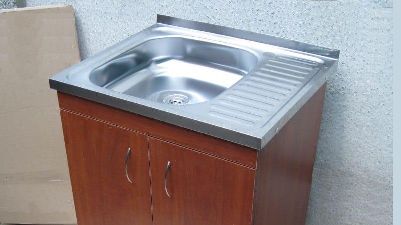 Все о накладных мойках для кухни из нержавеющей стали 50 на 60 см