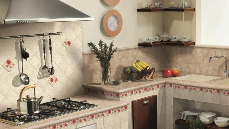 Все о плитке настенной для кухни