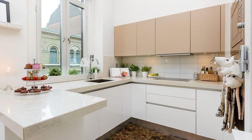 Особенности дизайна кухни в квартиру-студию на 25 квадратных метров