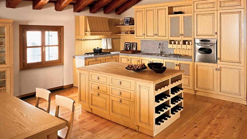 О кухне в деревенском стиле