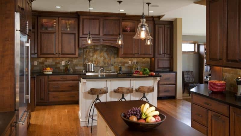 Кухни в стиле современная классика, дизайн интерьера