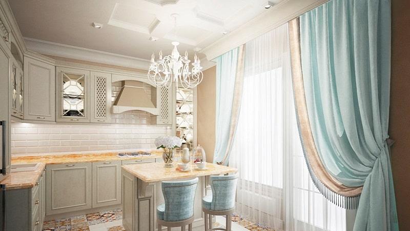 Как оформить кухню в стиле неоклассика?