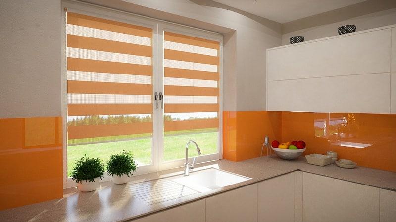 Как подобрать стильные занавески на кухню
