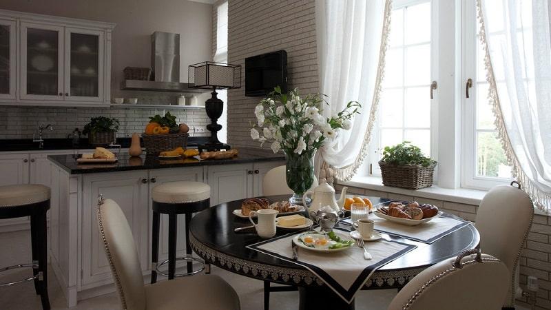Дизайн кухни в европейском стиле