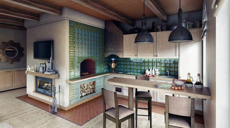 Идеи дизайна кухни на даче