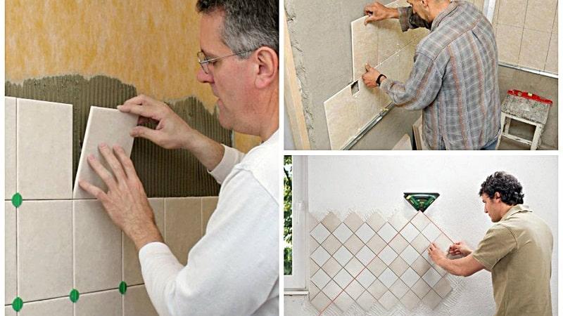 Плитка на кухню - укладка: как выбрать дизайн, материалы, клей