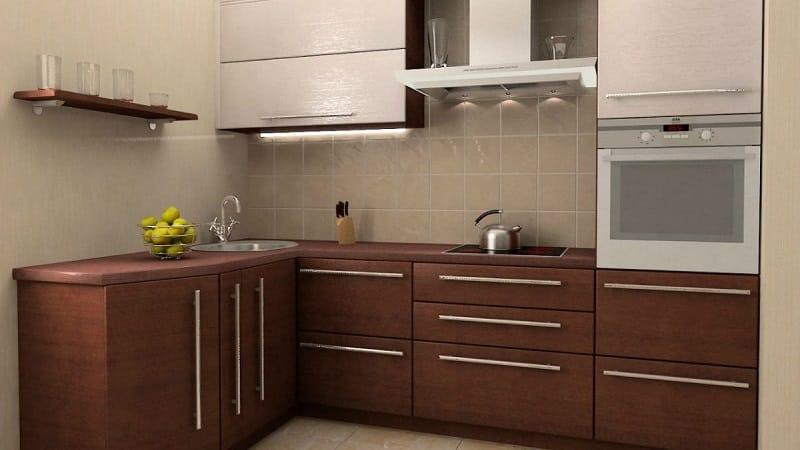 Кухня темный низ светлый верх: сочетание двухцветных гарнитуров