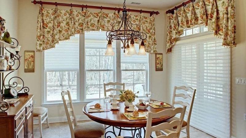 Подбираем шторы для кухни под дизайн