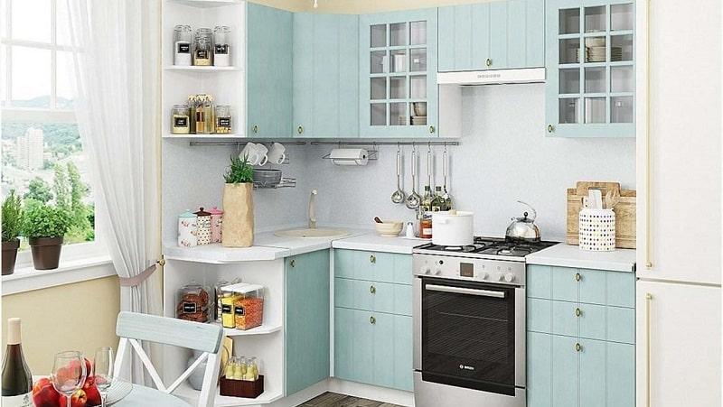 О модульных кухнях в стиле прованс