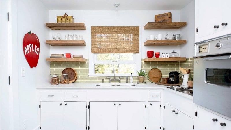 О полках на кухню из подручных материалов своими руками