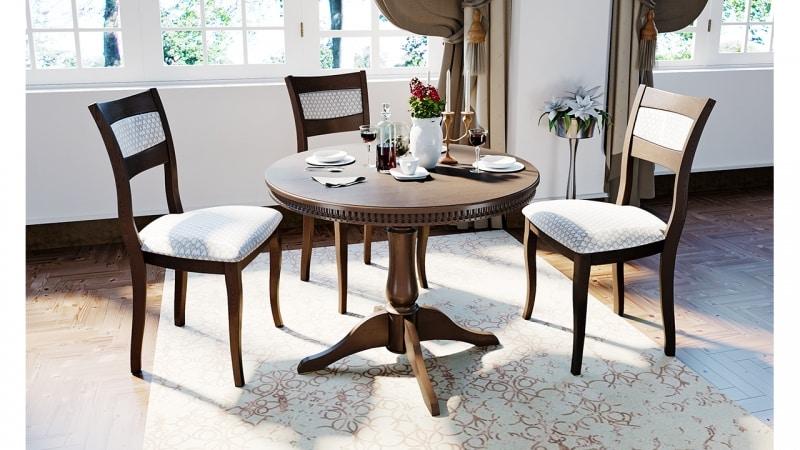 Особенности использования круглого стола на кухне