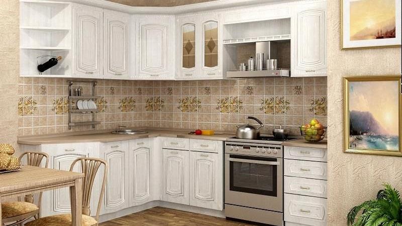 Варианты дизайна шикарных кухонных гарнитуров