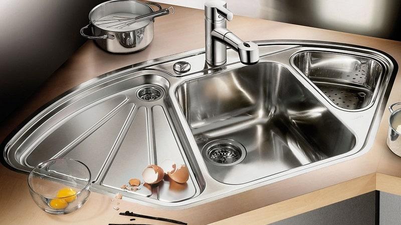 Все о мойках для кухни из нержавеющей стали