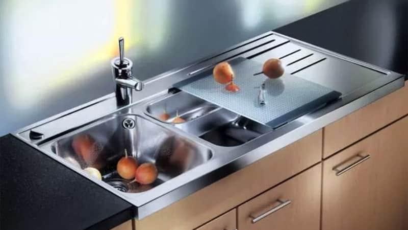 Все о накладных мойка для кухни