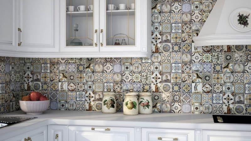 Все о плитке для кухни
