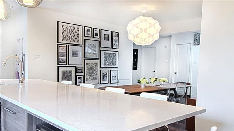 Всё о декоре стен на кухне