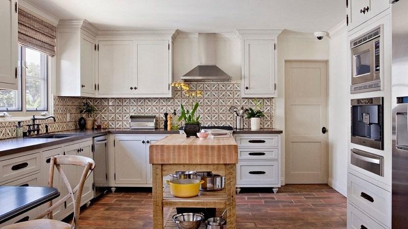 Всё о плитке для кухонного фартука