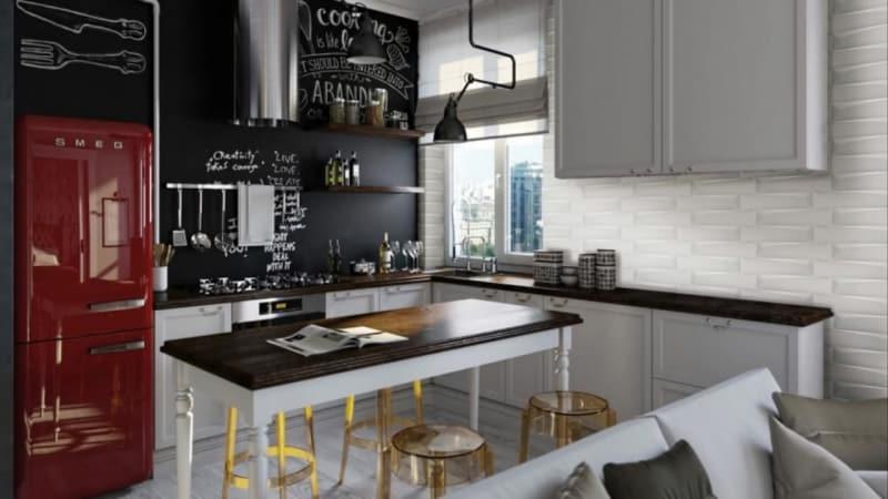 Модульные кухни и стиль лофт