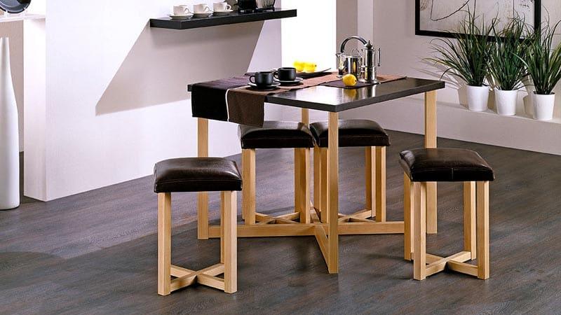 Кухонные деревянные табуреты под стол