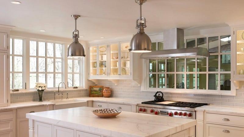 Все о кухонной плитке в стиле Прованс
