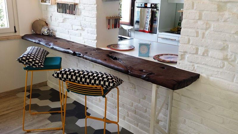 Барная столешница для маленькой кухни