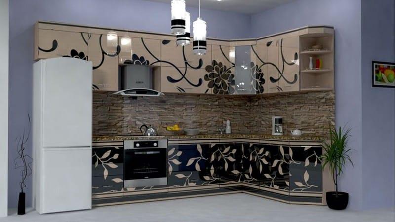 Декоративные наклейки на фасады, столы и шкафы кухонного гарнитура