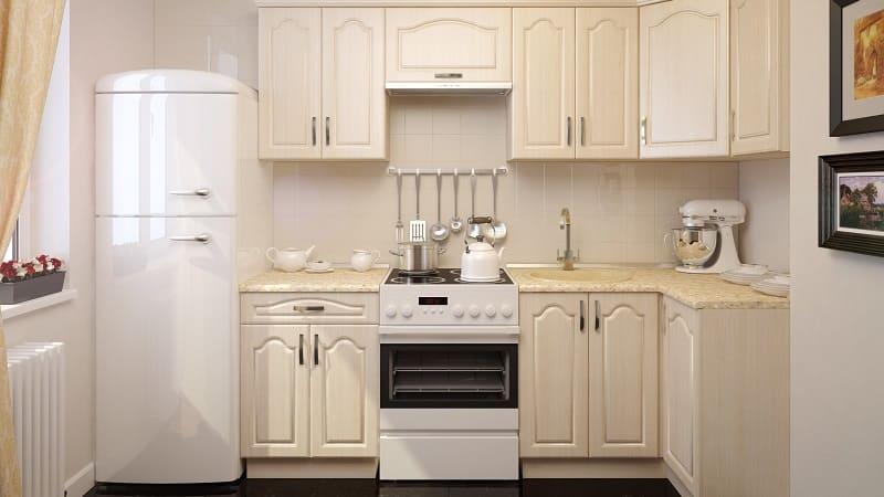 Дизайн угловых кухонь экономкласса