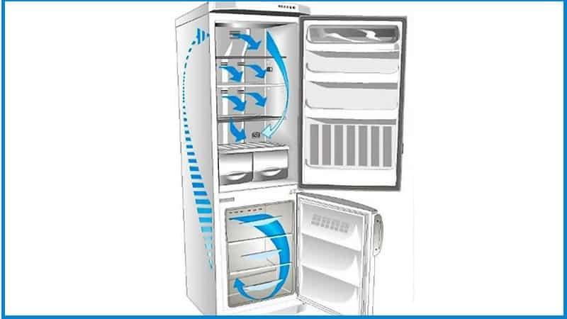 Где в холодильниках самое холодное место - сверху или снизу