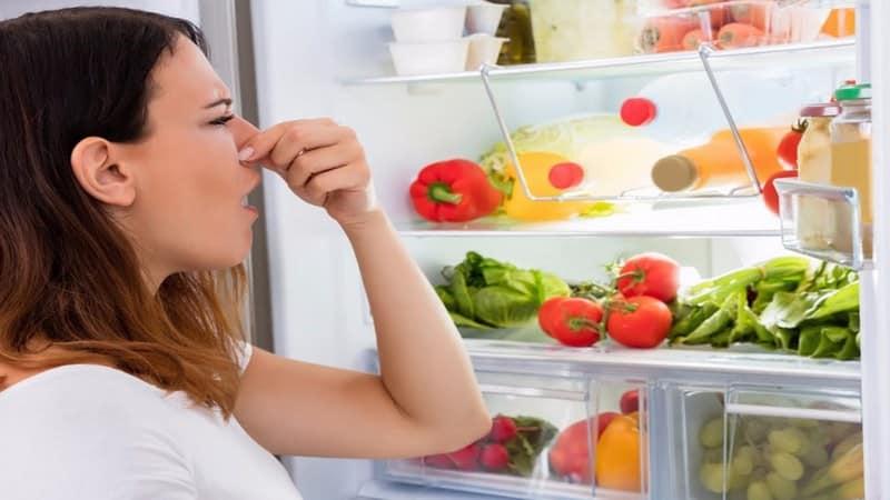 Как избавиться от вони в холодильнике